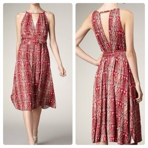 Marc by Marc Jacobs pink snakeskin print dress